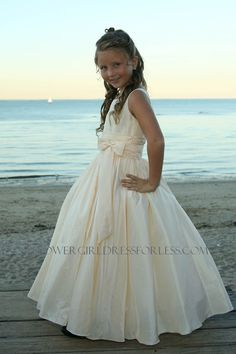 SP_385 - Sweetie Pie Collection- Flower Girl Dress / Communion Style 385 - First Communion Dresses - Flower Girl Dress For Less