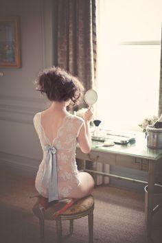 Vintage-y  boudoir photos