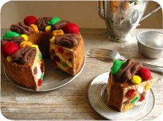Felt Fruit Cake