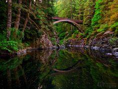Yacolt Bridge by Christina Angquico, via 500px
