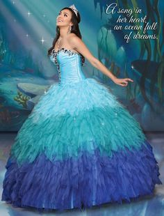 Shop for Disney Royal Ball Quinceanera Dresses and Gowns online. Look like your favorite Disney Princess during your Sweet 15 party. Sweet 15 Dresses, Pretty Dresses, Quince Dresses, Formal Dresses, Wedding Dresses, Dresses 2016, Elegant Dresses, Women's Dresses, Dresses Online