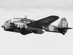 An Italian Caproni Ca.313 (S 16) in the Swedish Air Force F7 unit (1943)