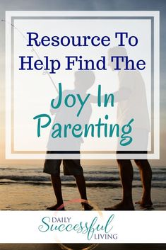 Parenting is hard work, at times we need to search deap to find the joy in parenting. These resources give you guidance and direction to be a better parent