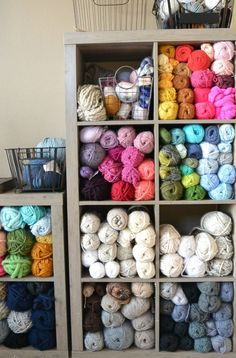 My Yarn Room Makeover - How To Organize – Mama In A Stitch