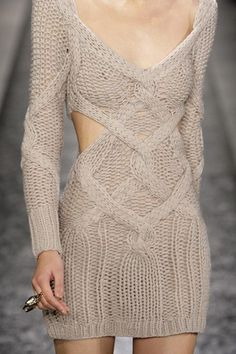 love this light sweater dress for the colder spring days