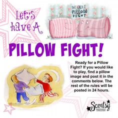 Pillow Fight Facebook Party Game. The rest of the rules are contained in the link!