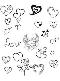 # # # # - Tattoo World Mini Tattoos, Cute Tattoos, Body Art Tattoos, Small Tattoos, Doodle Drawings, Doodle Art, Easy Drawings, Tattoo Drawings, Sharpie Tattoos