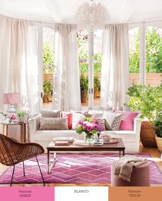 Best Way To Clean Carpet Runners Info: 5644582365 Bold Living Room, Living Room Paint, Living Room Furniture, Living Rooms, Murs Roses, Cheap Carpet Runners, Interior Decorating, Interior Design, Outdoor Furniture Sets