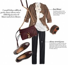 Women's Fashion Trends Professional Office Business Wear Three Outfits Fall Winter 2011 2012