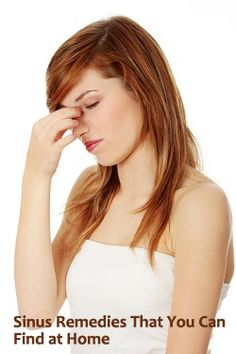 Sinus Remedies That You Can Find at Home - Articles Worth Reading « Articles Worth Reading