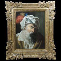 Tête de vieil oriental – Giandomenico Tiepolo – Venise XVIIIe siècle