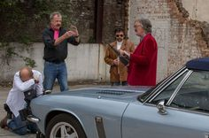 Jeremy Clarkson, Richard Hammond and James May together again