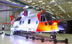 "Presentation Ceremony of the first Norwegian AW101.  Norway has selected the AW101 ""Merlin"" in November 2013 to replace the forthcoming fleet current fleet of Sikorsky S 3 ""Sea King"" in use for nearly thirty years. The helicopters will be delivered between 2017 and 2020. Image @ Leonardo-Finmeccanica"