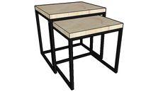3D Model of NESTING SIDE TABLE