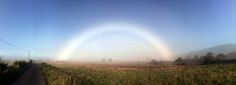 NEUVERITEĽNÉ: Dúha v Škótsku nemá farby  #scotland #fogbow #rainbow #nocolour #white #duha #dúha #biela #škótsko #skotsko