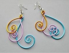Easy Wire Earrings                                                                                                                                                                                 More