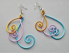 Easy Wire Earrings