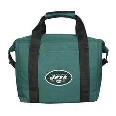 New York Jets 12 Pack Kolder Cooler Bag - Licensed NFL Football Merchandise Nfl Green Bay, Green Bay Packers, Soft Sided Coolers, Packers Football, Packers Gear, Packers Memes, Packers Funny, Nfl Steelers, New Era Snapback