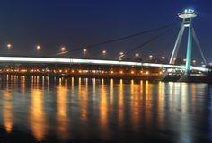 Pressburg bridge by Victor  Cristescu on 500px