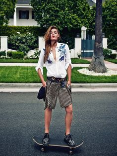 Bambi Northwood by Ben Morris for Elle France | The Cool Hour | Style Inspiration | Shop Women's Fashion