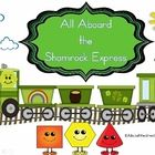 All Aboard the Shamrock Express with 2D and 3D Shapes          Your students will quickly learn 2D and 3D shapes as they load a St. Patrick's Day Tra...