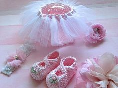 Baby Girl Photo Prop Tutu Crochet Baby por TippyToesBabyDesigns