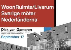 Dick van Gameren speaks at swedish seminar on public housing