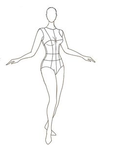 Fashion Sketch Template, Fashion Figure Templates, Fashion Design Template, Fashion Figure Drawing, Fashion Model Drawing, Fashion Design Drawings, Fashion Illustration Sketches, Illustration Mode, Fashion Sketches