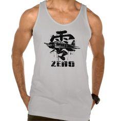 A6M Zero Tank Top Tank Tops