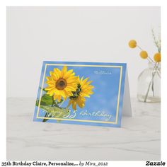 Shop Happy Retirement Wishes Sunflowers Elegant Card created by Personalize it with photos & text or purchase as is! 1st Wedding Anniversary Wishes, Happy Anniversary Cards, Anniversary Gifts For Parents, Anniversary Funny, 30th Birthday Cards, Happy 40th Birthday, Birthday Gifts, Happy Retirement Wishes, Sunflower Cards