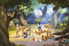 Disney Princess Snow White Wall Mural