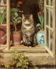 you might like this painting by Ralph Hedley called Blinking in the Sun