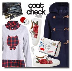 """""""Statement Coats"""" by soks ❤ liked on Polyvore featuring Marc by Marc Jacobs, too cool for school and statementcoats"""