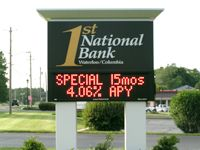 LED Signs & Displays Financial Institutions - Adsystems