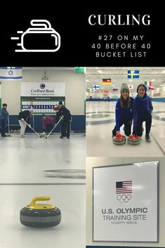Winter Olympics here I come! But, I did get to check a second item off my bucket list and try something new. Curling was a fun experience. Anyone can pick up the basics quick… Bucket List Destinations, Happy Mom, Winter Olympics, Bucket Lists, Curling, Athletics, Cool Places To Visit, Family Travel, Pregnancy