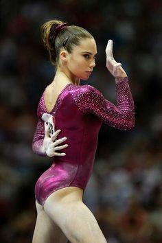 McKayla Maroney on floor at 2012 US Olympic Team Trials