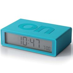 Reloj Lexon Flip Turquesa Alarma y Snooze http://www.tutunca.es/reloj-lexon-flip-turquesa-alarma-snooze