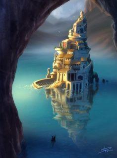 City at Dawn by Sabinerich.deviantart.com on @deviantART