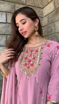 Punjabi Salwar Suits, Patiala Salwar, Plazo Kurti, Embroidery Suits Punjabi, Hand Embroidery Dress, Embroidery Suits Design, Embroidered Clothes, Indian Bridal Outfits, Indian Fashion Dresses