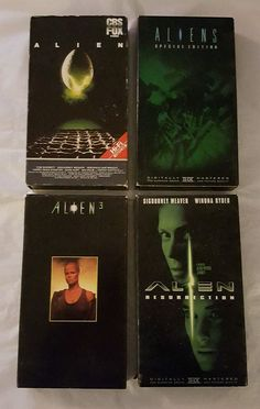 Lot of 4 Alien VHS Tapes Parts 1, 2, 3 & Resurrection in DVDs & Movies, VHS Tapes | eBay, Christmas Shopping