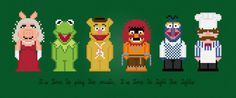 AmazingCrossStitch | Etsy | The Muppet Show TV Characters Digital PDF