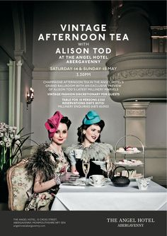 Alison Tod Vintage Afternoon Tea Collection