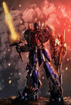 Optimus fan art for Transformers 4