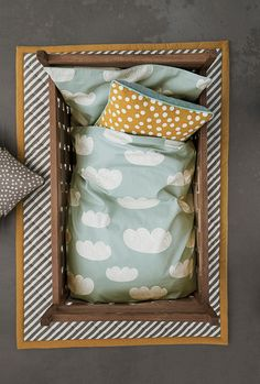 Bedding with clouds from Ferm living aw 2013
