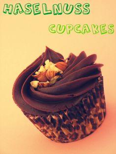 Haselnuss Cupcakes (vegan)