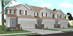 Multi-Family Plan 41141 | Traditional    Plan with 4935 Sq. Ft., 9 Bedrooms, 9 Bathrooms, 6 Car Garage