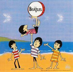 the beatles cartoon show