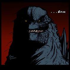 godzilla king of monsters Godzilla Franchise, Godzilla Comics, Godzilla 2, Mothra Movie, Chappelle's Show, Big Lizard, Space Dragon, Doodle Sketch, Cute Chibi