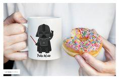Que levante la mano el padre del año!! ✋ Pide ya tu taza personalizada para el día del padre en https://www.facebook.com/lastazasdesilvia/ | Mug lovers | Custom | Made to Order | Personalized Mug | Mug lovers | #Tazas #díadelpadre #regalos #mug #lastazasdesilvia #tazas #tazaspersonalizadas #mug #café #coffee #desayuno #ceramic  #coffeelover #cup #illustration #padre #regalospersonalizados #lovely #amor #love #starwars