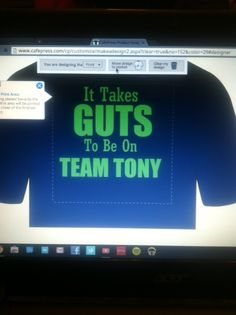 """It Takes GUTS To Be On TEAM TONY"" and literally that's what it will take to save Tony's life. We have a T-SHIRT Fundraiser thanks to Apostolic Truth Apparel. Donation of $20 plus s/h will go to Tony's Special Needs Trust (the Antonio Forte Transplant Fund Trust) more info about Tony and how U can help at www.aftft.com . Sizes of the shirts :2x,1x,L,M,S and Youth: S,M,L XL.."